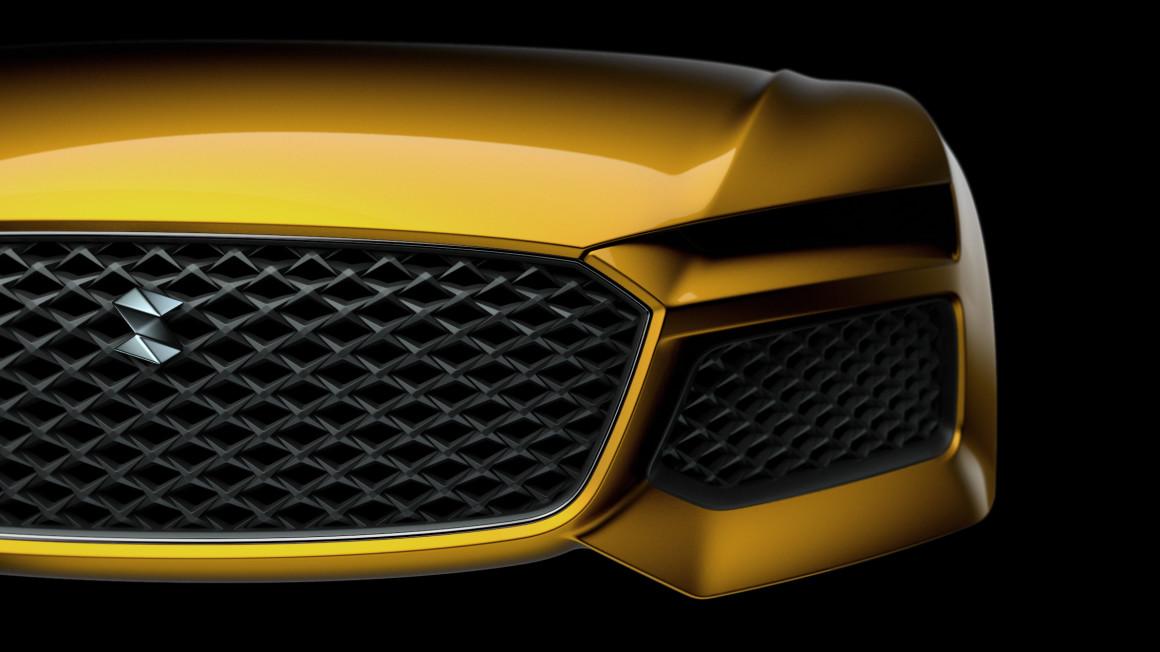 Audi Sport Quattro grille